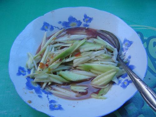 Rujak Kuah Pindang (Mangga)