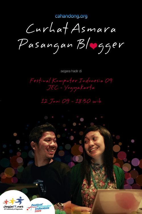 Curhat Asmara Pasangan Blogger